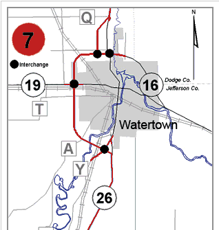 highway 19 watertown