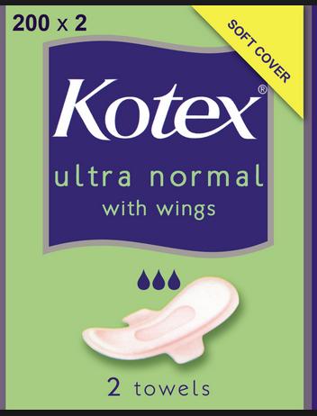 kotex wings
